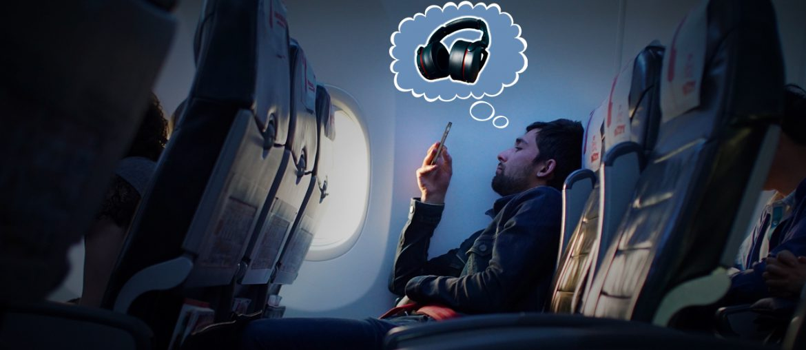 Wireless Headphones For Aeroplane Travel